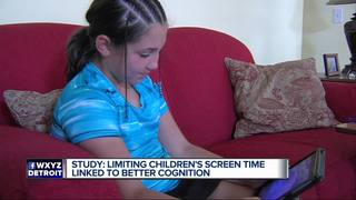 Less screen time linked to better cognition