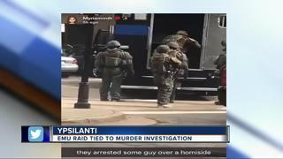 Murder investigation leads to arrest at EMU dorm