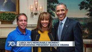 Carolyn looks back at her interview with Obama
