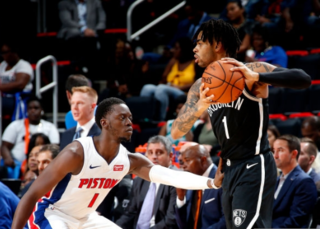 D'Angelo Russell, Nets edge Pistons in OT