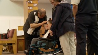 Woman walks again, credits miracle doctor