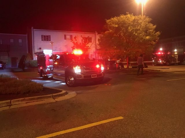 Possible gas leak in downtown Northville