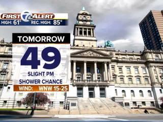 FORECAST: 40s for highs Wednesday