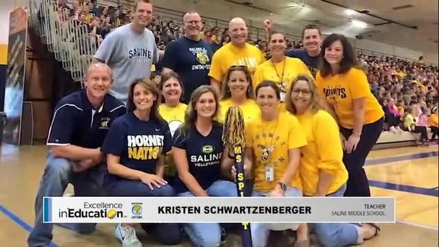 Excellence in Education - Kristen Schwartzenberger
