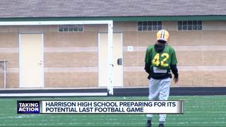 Harrison football on the brink of being over