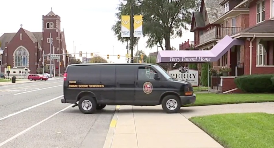 Detroit Police remove more than 30 infant remains from Perry Funeral Home