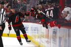 Ferland helps send Hurricanes past Red Wings