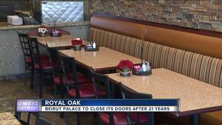 Beirut Palace leaves Royal Oak due to parking