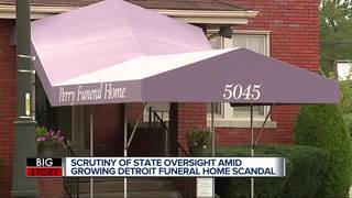 State oversight of funeral homes under scrutiny