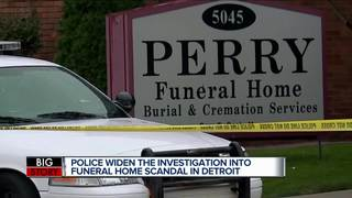 Lawsuit filed against Perry Funeral, WSU, DMC