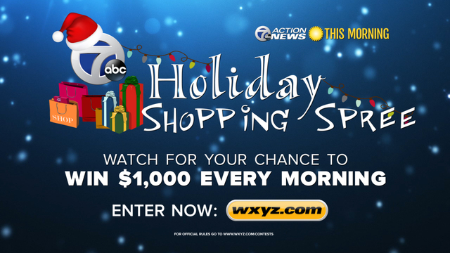 Win a shopping spree 2018