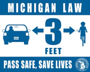 Community Comment on Michigan bike passing law