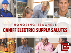 Enter to win: Caniff Electric Salutes Teachers