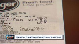 BBB warns about 3 phone scams targeting Detroit