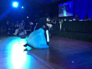 Inspiring woman wins local DWTS competition