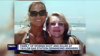 Family speaks about Taylor gas station shooting