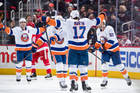 Islanders rally from 2 down, beat Red Wings